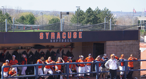 Syracuse's offense scored 10 runs but never could take the lead against North Carolina on Sunday afternoon.