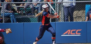 Alyssa Dewes went yard on Wednesday afternoon in SU's loss in game two.