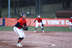 Alexa Romero held Virginia Tech to just two hits on the day, and kept the Orange in the game when the offense struggled early.
