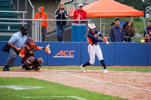 Alicia Hansen went 3-for-3 with two RBI in Syracuse's 6-2 win against Cornell