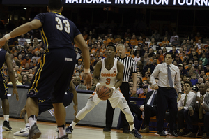 Andrew White set Syracuse's record for single-season 3-pointers this year, but what he did otherwise may not be enough to convince an NBA team to gamble at the 2017 draft.