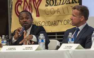 Last month Alfonso Davis attended a public forum along with the other mayoral candidates to discuss issues relevant to Syracuse. Now, he has been ruled ineligible to run for mayor.