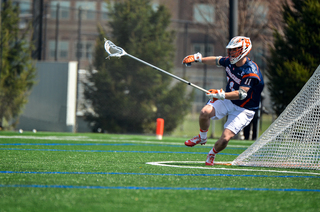 Scott Firman and the rest of Syracuse's back line locked down Notre Dame's strong attack.