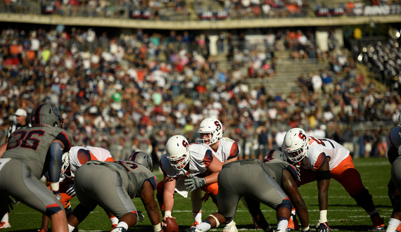 Syracuse football's offensive line patches together mediocre performance